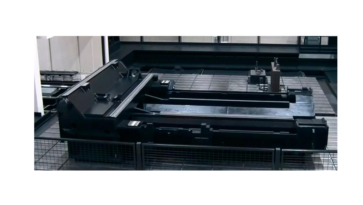 Pieza mecanizada en VERSATECH V-100N/160 - Intermaher