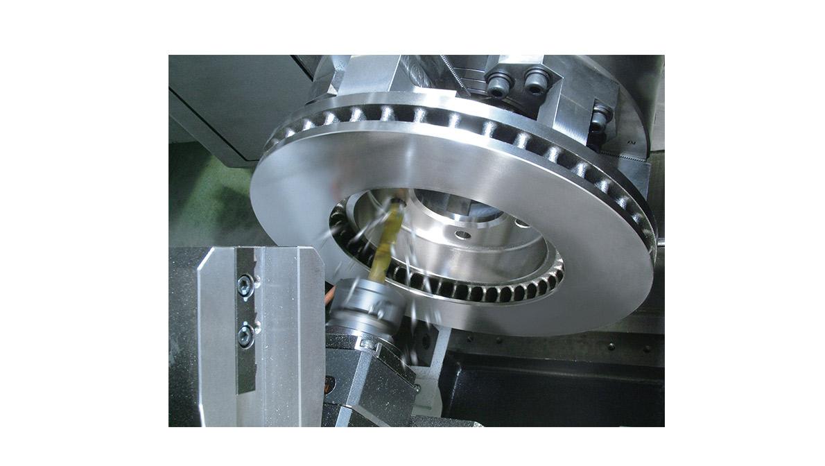 Pieza mecanizada en MULTIPLEX W-200 - Intermaher