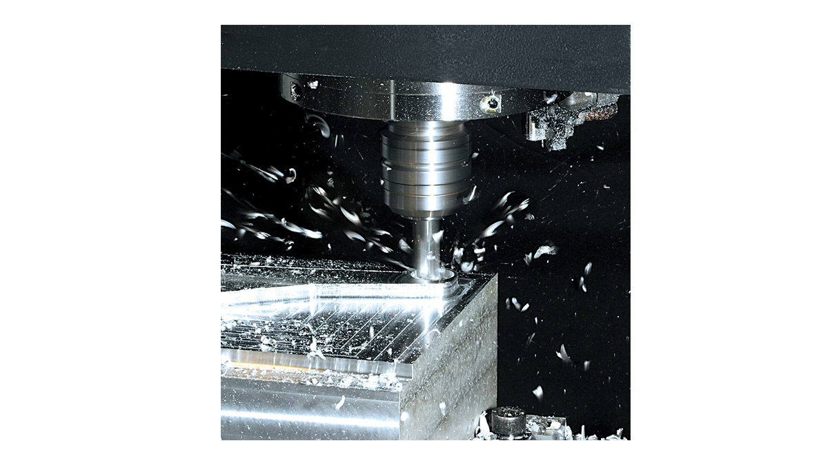 Pieza mecanizada en VERTICAL CENTRE PRIMOS 400S - Intermaher