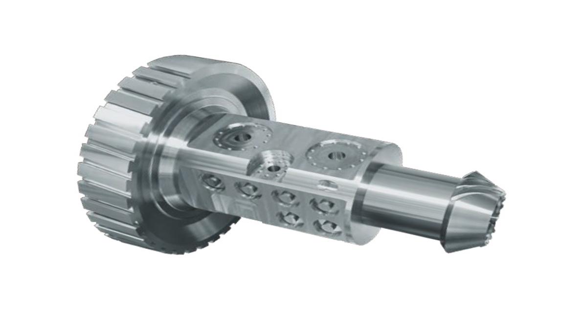 Pieza mecanizada en INTEGREX e-420H - Intermaher