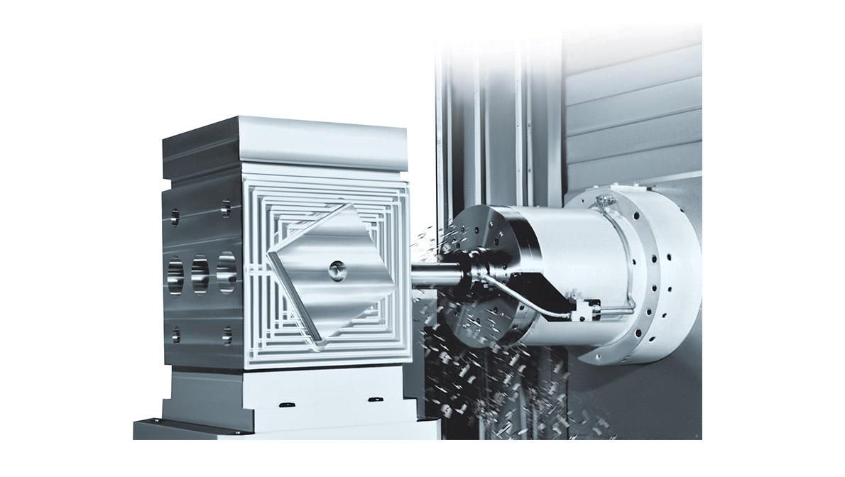Pieza mecanizada en HCN-4000 - Intermaher