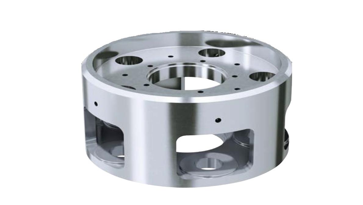 Pieza mecanizada en INTEGREX e-1250V/8 - Intermaher