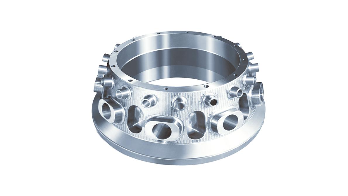 Pieza mecanizada en VORTEX e-1250V/8 - Intermaher