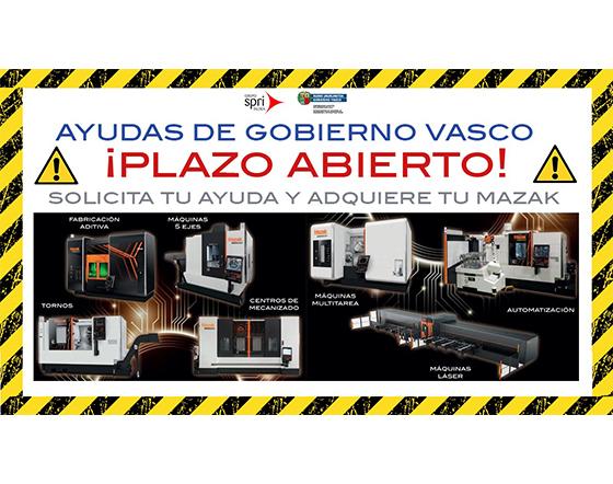 Ayudas de Gobierno Vasco para la adquisición de maquinaria industrial