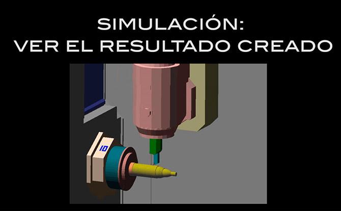 Control numérico Mazak: Torneado barra ext 3D Assist