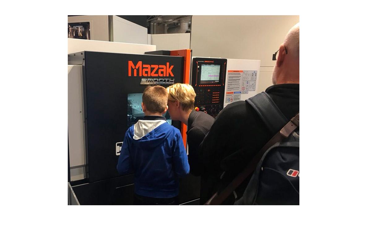 MACH 2018 Visita Mazak - Intermaher