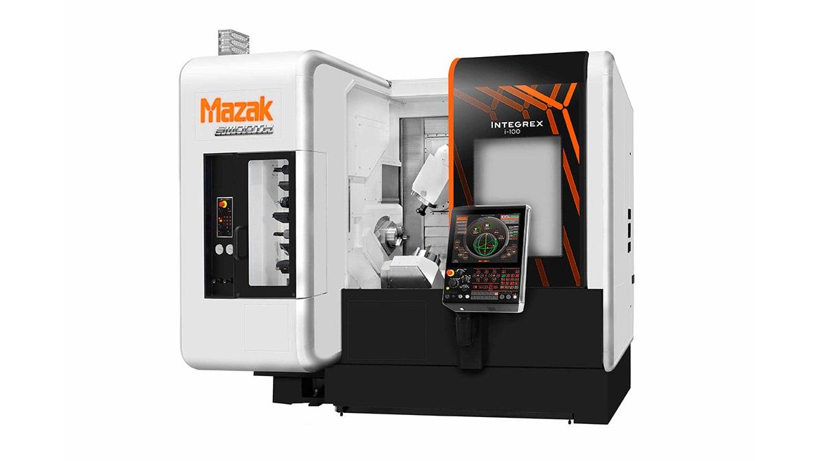 Máquina Herramienta Multitarea Horizontal Mazak Integrex i-100 - Intermaher