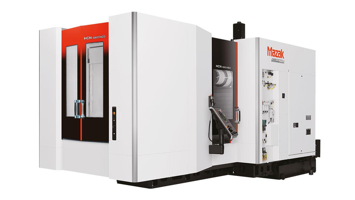 Centro de mecanizado horizontal de 4 ejes HCN-6800 NEO