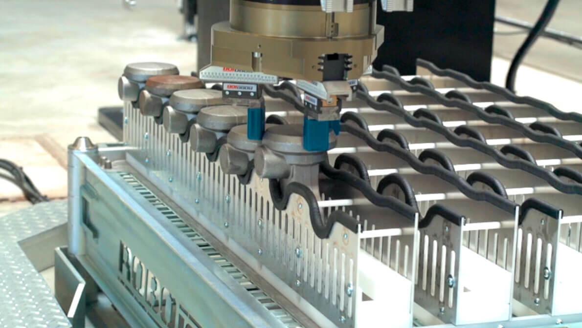 Intermaher automatizacion máquinas Mazak con Racks Robojob - Intermaher