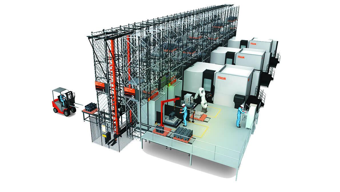 Intermaher Mazak MAZATEC Smart Manufacturing System (SMS) - Intermaher