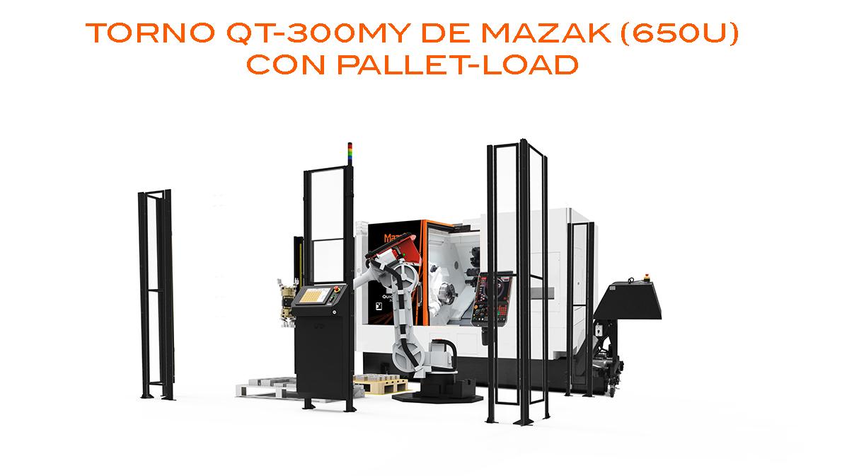 Torno Intermaher Mazak con Pallet-Load