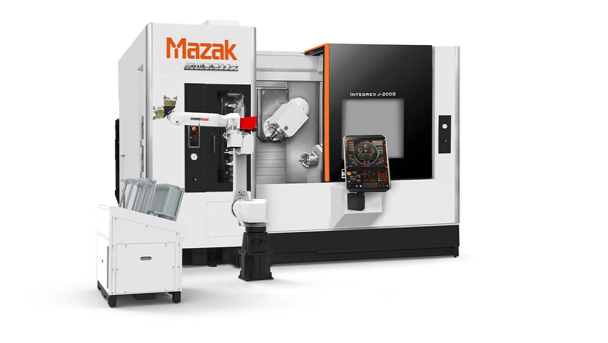 Multitarea Integrex Intermaher Mazak con Turn Assist 270 robot separado - Intermaher