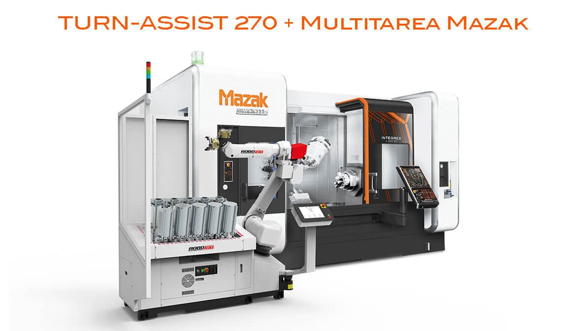 Multitarea Integrex Intermaher Mazak con Turn Assist 270 - Intermaher