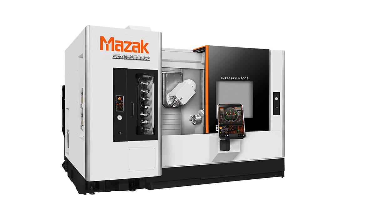 INTERMAHER MAZAK Torno multitarea horizontal INTEGREX j-200S (segundo cabezal)